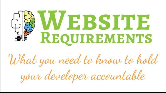 Website Requirements by PluginMatter
